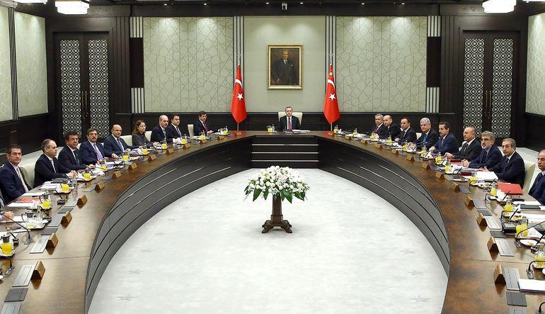 Erdoğan kabineyi topluyor