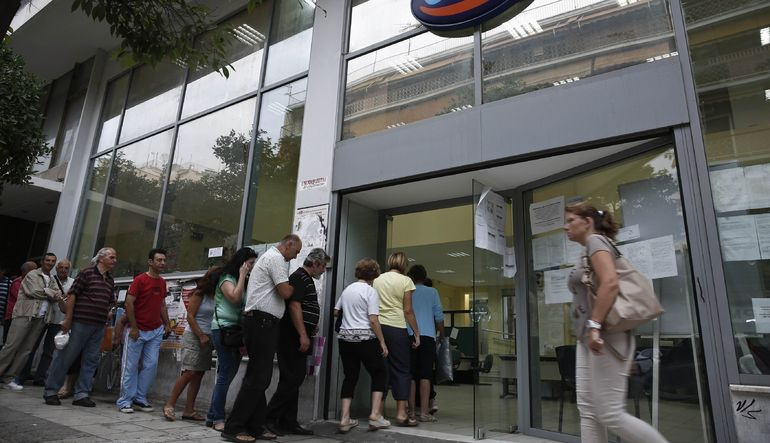 Yunanistan'da işsizlik %26.1