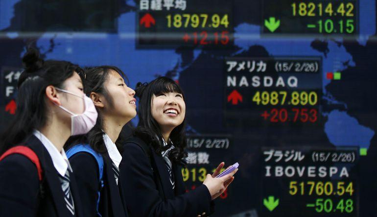 Japon Borsası 15 yılın zirvesinde