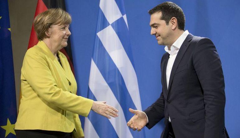 Merkel-Tsipras görüşmesi sona erdi