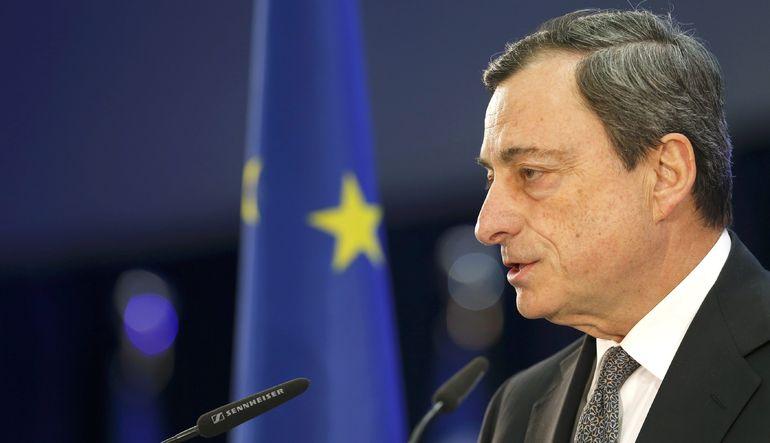 """Avrupa Merkez BAnkası Başkanı Mario Draghi: """"Gelecek aylarda enflasyon artacak"""""""