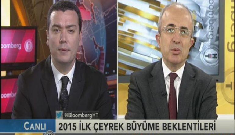 """Merkez Bankası Eski Başkan Yardımcısı Fatih Özatay, """"2015 büyümesi 2014'ün de altında olacak"""" dedi"""