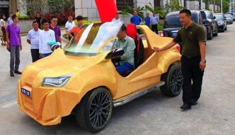 Çin 3D yazıcı ile araba üretti