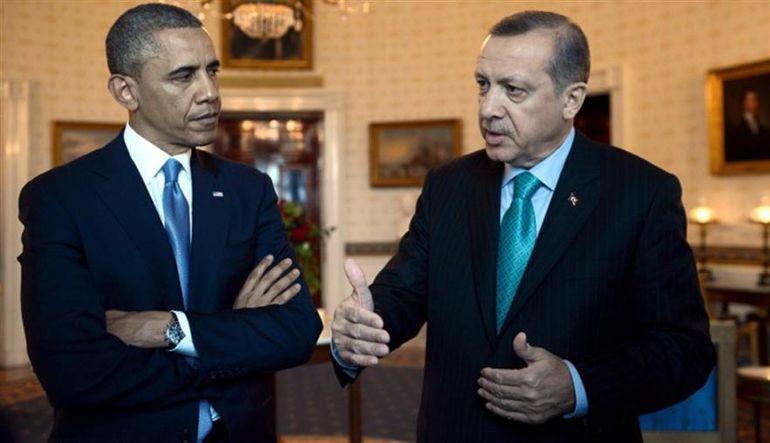 Erdoğan ve Obama'dan 1 saatlik telefon görüşmesi