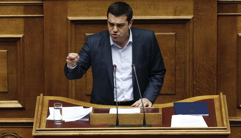Tsipras muhalefetten destek arayışında