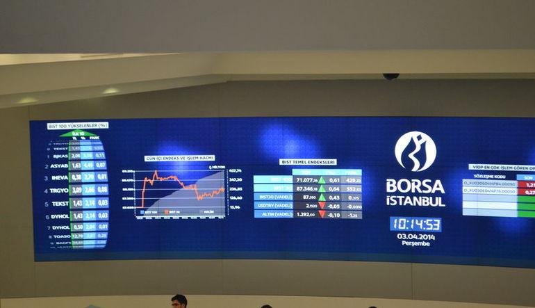 Büyüklerin piyasa değeri 29 milyar lira eridi