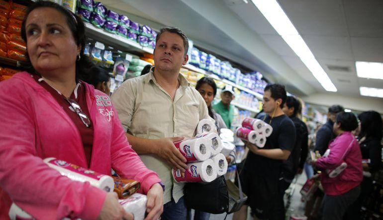 Venezuela'da tuvalet kağıdı krizi