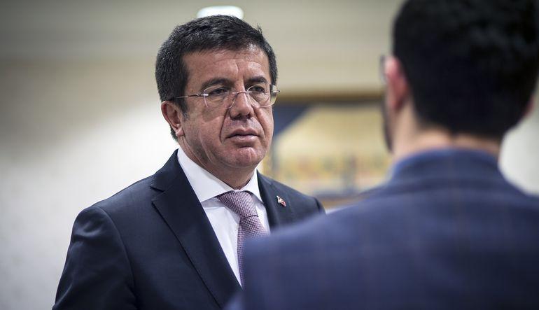Ekonomi Bakanı Nihat Zeybekci konuşuyor