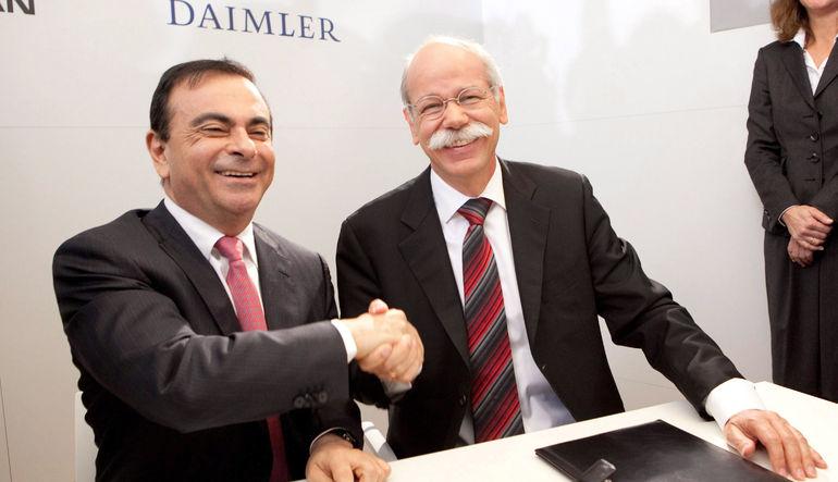 Renault-Nissan ittifakı ve Daimler, beş yıllık stratejik işbirliklerini kamyonet segmentinde genişletme kararı aldı. 3 şirket, Mercedes Benz için 1 to