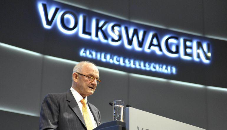Volkswagen'de liderlik kavgası