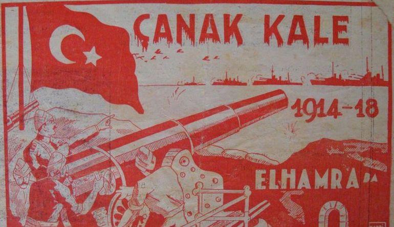 Atatürk'ün de izlediği ilk Çanakkale filmi