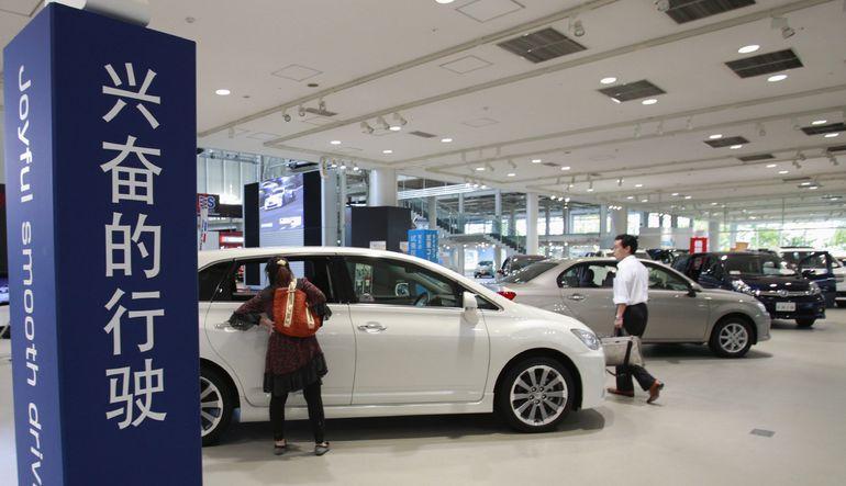 Otomotiv Çin'de frene basıyor