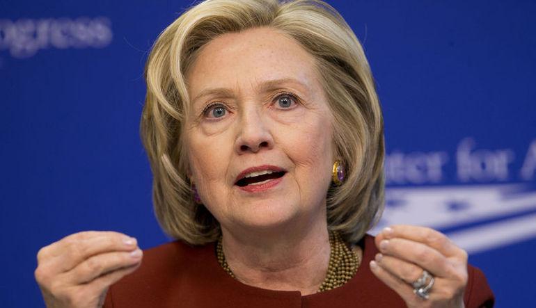 Hillary Clinton %1'e gözünü dikti