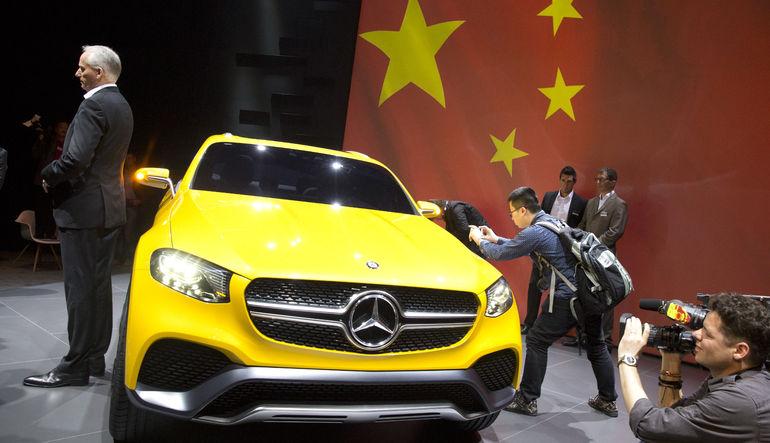 Çin'de Mercedes'e ceza