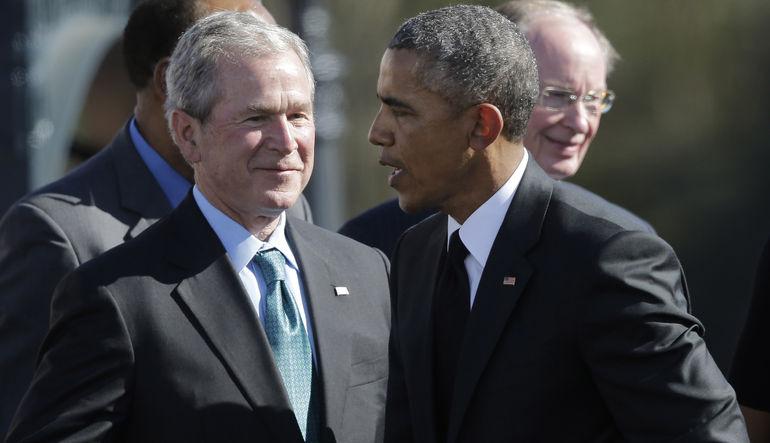 Bush Obama'ya sert çıktı
