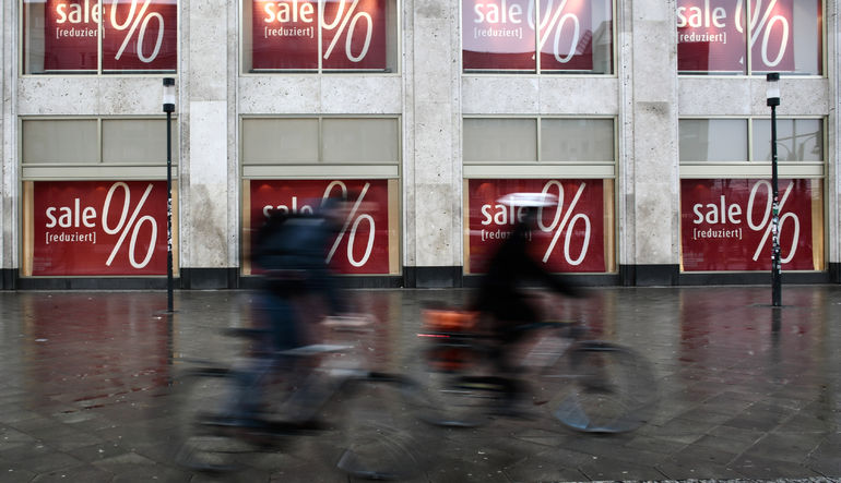 Euro Bölgesi'nde deflasyon Nisan'da durdu