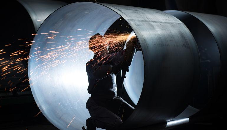 Mart ayında sanayi üretimi aylık bazda yüzde 2.2, yıllık bazda ise yüzde 4.7 arttı