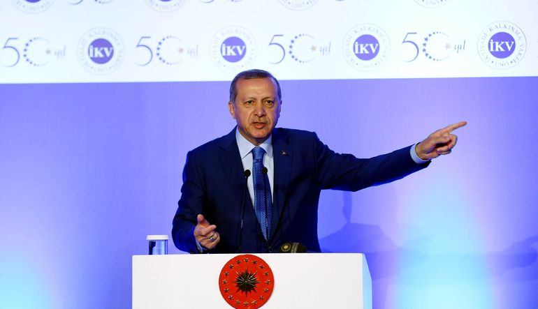 Cumhurbaşkanı Recep Tayyip Erdoğan, bu hafta açıklanan Mart ayı sanayi üretimindeki artışın büyümenin de beklentilerin üzerinde geleceğine işaret etti