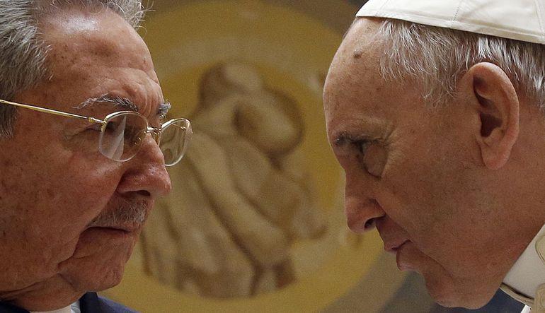 Castro, Papa ile görüştü