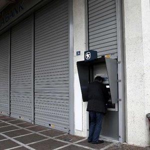 YUNANİSTAN'DA BANKA TEMİNATLARI TÜKENMEK ÜZERE