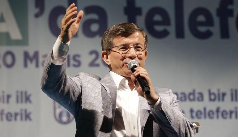 Davutoğlu: CHP projesi hırsızlık hırsızlıktır