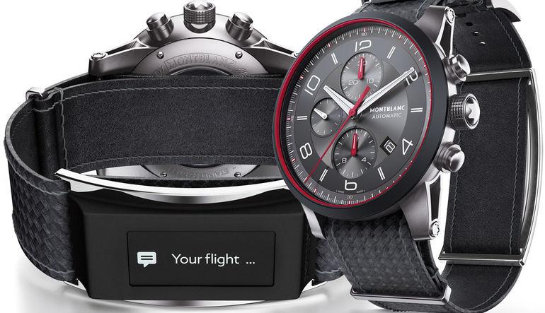 Montblanc'dan 'akıllı saat kayışı'