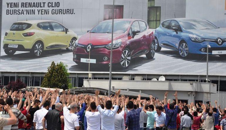 Oyak Renault: Eylemlerle ilgili yaptırım olmayacak