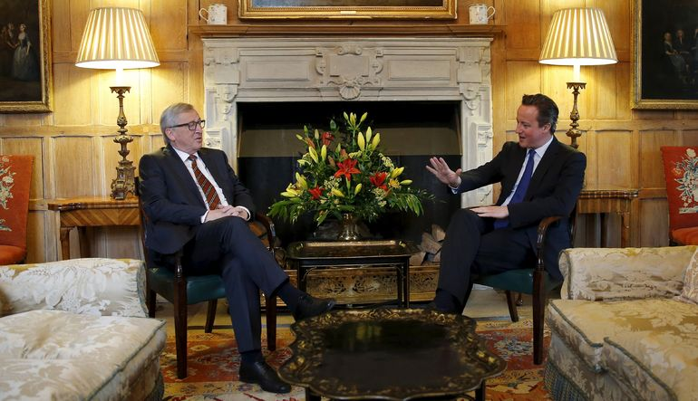 Cameron ile Juncker, İngiltere-AB ilişkilerini görüştü