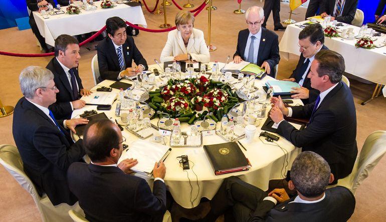 G-7 toplantısında herkesin aklı Yunanistan'da olacak
