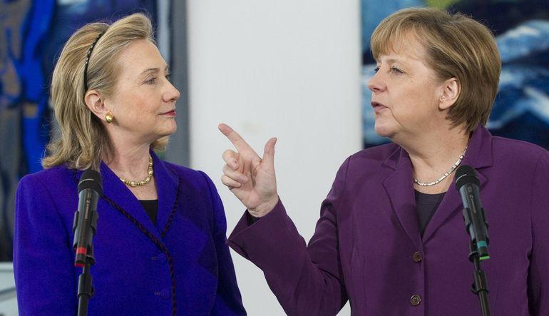 """Almanya Başbakanı Merkel, Forbes dergisinin listesinde 5'inci kez """"dünyanın en güçlü kadını"""" olarak yer aldı"""