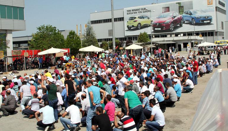 Oyak Renault, işçi eylemlerinin bugün itibariyle sona erdiğini açıkladı