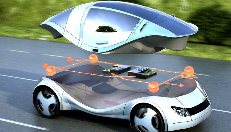 Geleceğin arabası böyle olacak