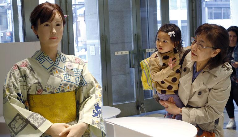 Japonya'da robot devrimi