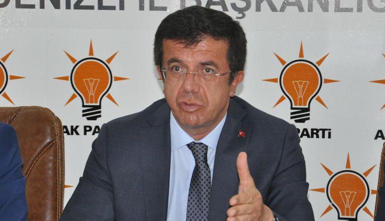 """Ekonomi Bakanı Nihat Zeybekci, Bank Asya'nın TMSF'ye devri için """"tamamen hukuki ve teknik bir çalışmadır"""" dedi"""
