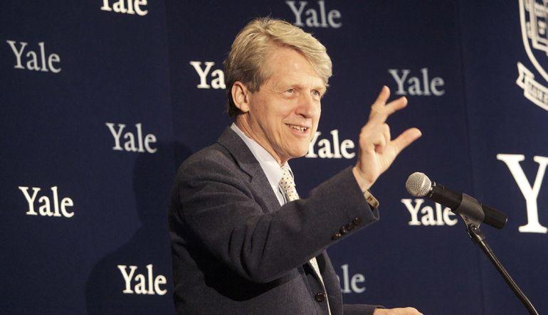 Nobel ödüllü ekonomist Robert Shiller, Goldman Sachs'dan Alison Nathan'a röportaj verdi