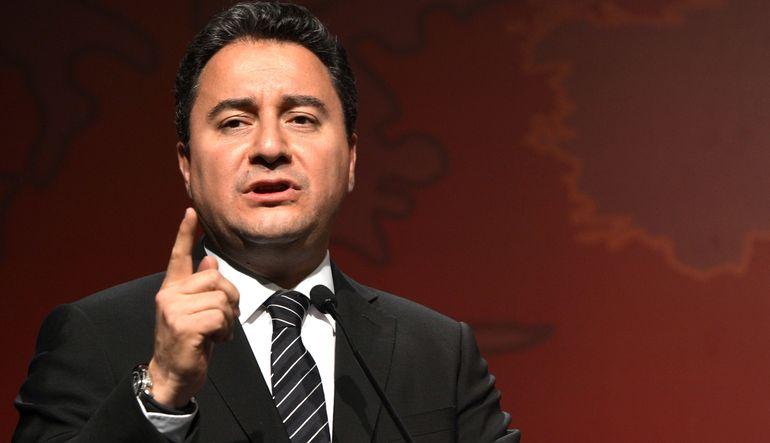 Ali Babacan konuşuyor