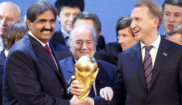 Katar piyasası Blatter'in istifası ile çakıldı