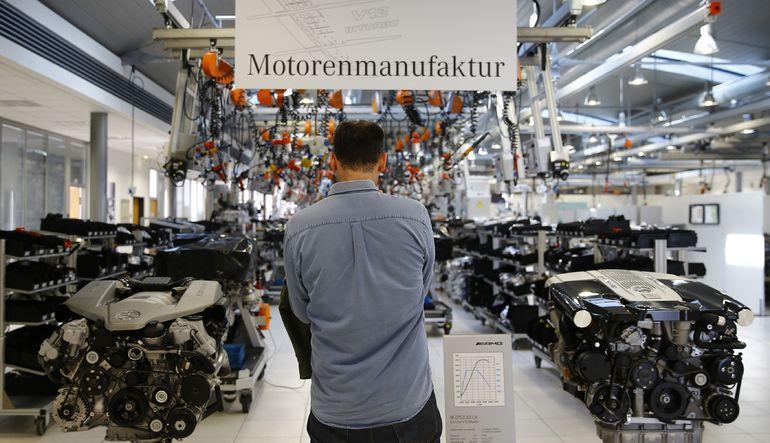 Alman fabrika siparişleri arttı