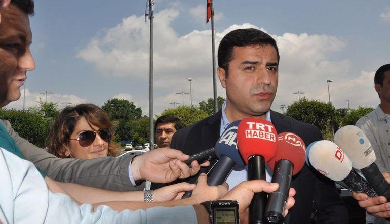 Demirtaş: AKP ile koalisyon yapmayacağız