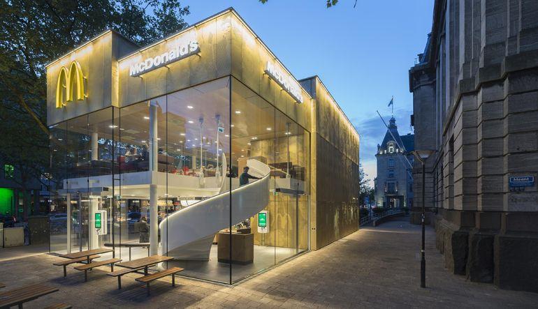 McDonalds'ın Güney Hollanda'daki son şubesi görenleri şaşırtıyor