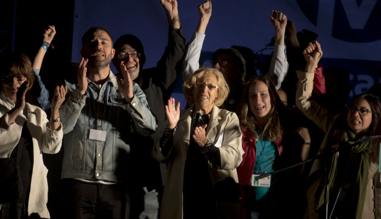 Madrid Belediyesi Podemos'un eline geçti