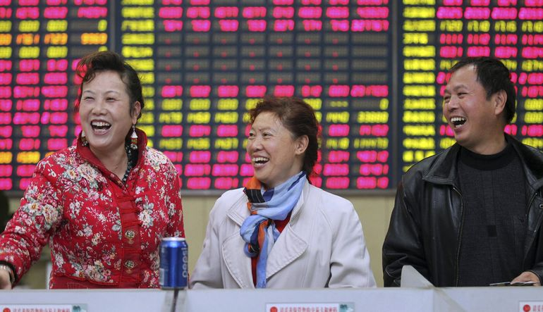 Çin borsası 10 trilyon doları aştı
