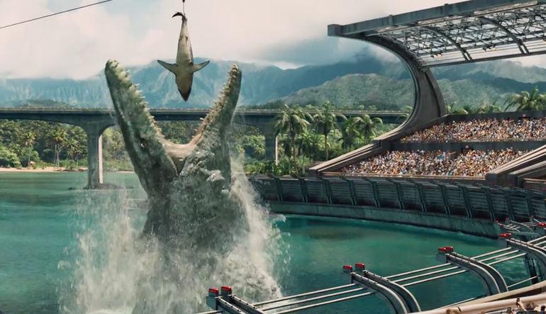 Jurassic World'den gişe hasılatı rekoru