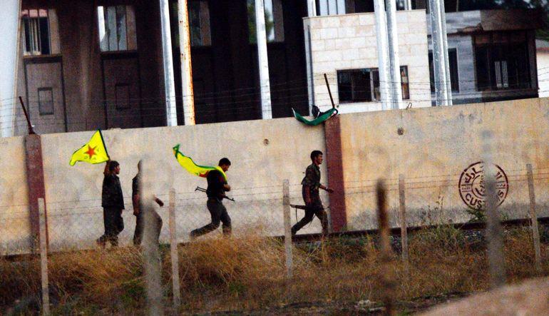 Tel Abyad YPG'nin kontrolünde