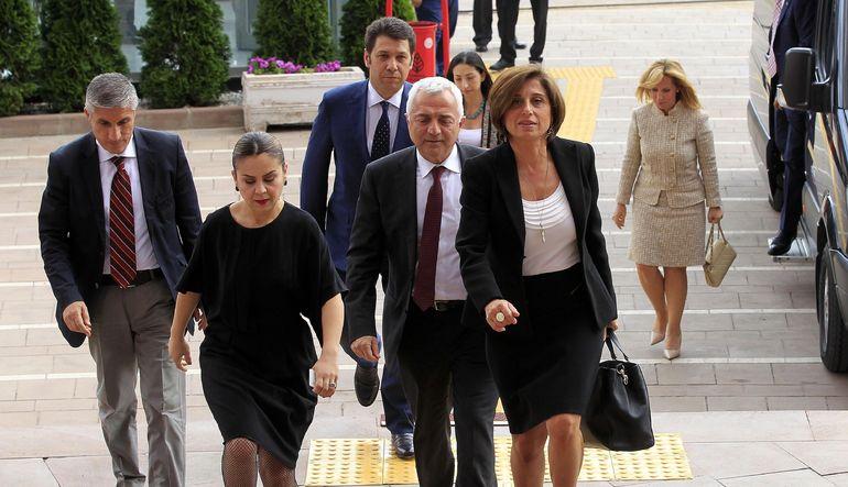 TÜSİAD Başkanı Cansen Başaran Symes, CHP Genel Başkanı Kemal Kılıçdaroğlu ile görüşmelerinde iş dünyası olarak siyasilerin uzlaşma kültürü ile hızla b