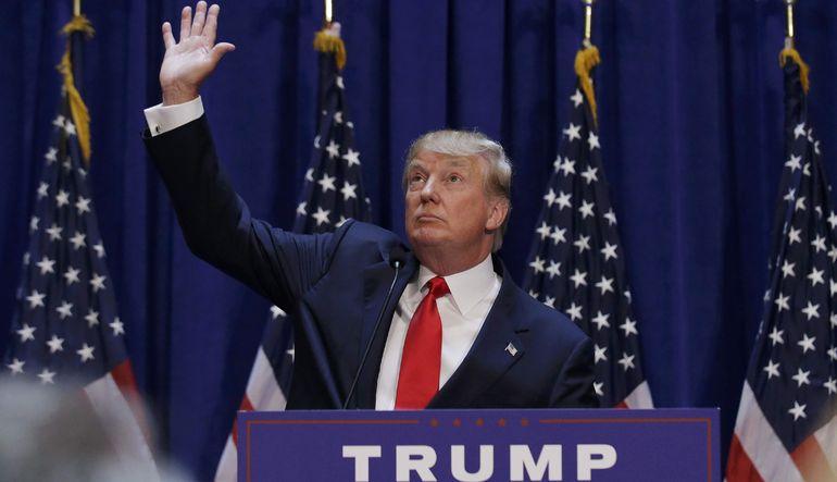 Trump başkanlık için yarışacak