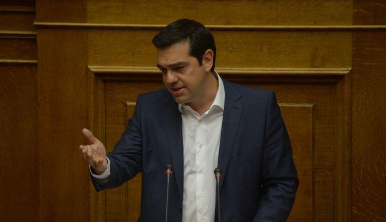 """Yunanistan Başbakanı Tsipras, """"Bu ülkede kimin vergi vereceğine karar vermek hükümetin yetkisindedir"""" dedi"""