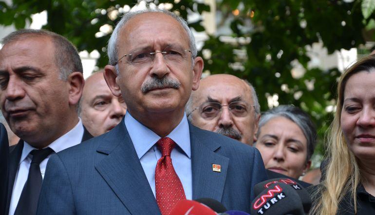 CHP lideri Kemal Kılıçdaroğlu'ndan 'Başbakanlık teklifi' açıklaması