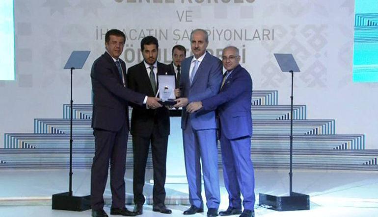 Türkiye İhracatçılar Meclisi 22. Olağan Genel Kurulu ve İhracatın Şampiyonları ödül töreni gerçekleştirildi.