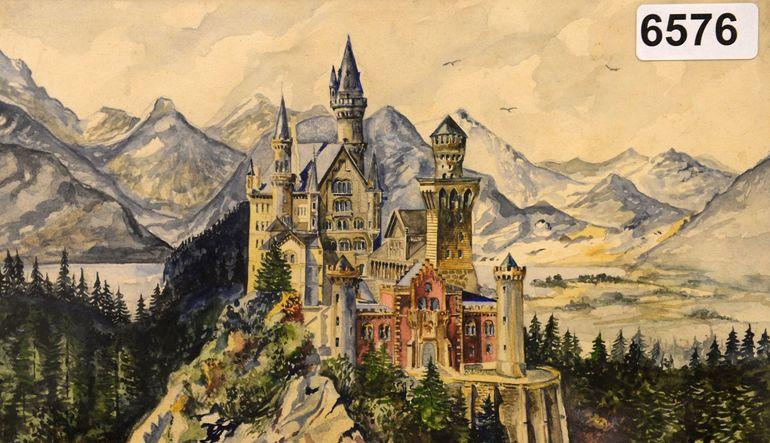 Hitler'in 14 tablosu 391,000 euroya alıcı buldu